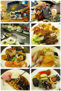 Christmas brunch food-fare at Benteng Coffee House, Quality Hotel in KL