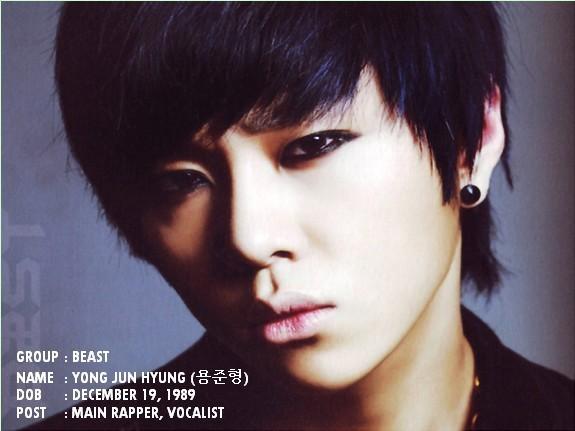 Beast junhyung  Beast Kpop Junhyung
