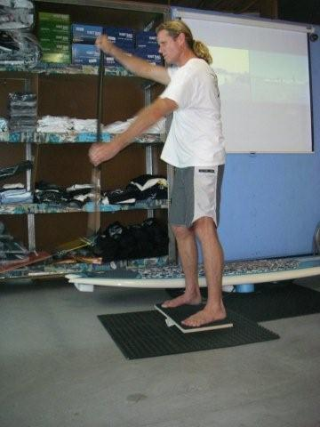 stand up paddle machine