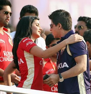 Katrina & Sharukh in IPL