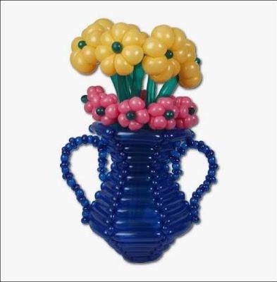 todo hecho con globos