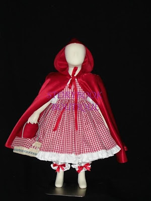 Ideas para coser disfraz de Caperucita roja ~ Nos disfrazamos