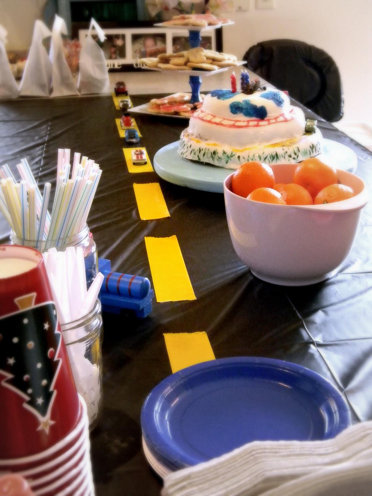 Plastic Car Cake Decoration