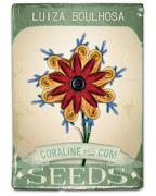 Flor de Luiza feita no site de Coraline