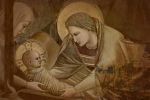 Natività. Giotto. 1304-06. Cappella degli Scrovegni. Catedral de Padua