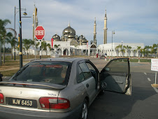 WJW di Masjid Kristal, Kuala Terengganu