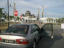 WJW di Masjid Kristal, Kuala Terengganu
