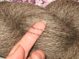 mocha shetland yarn