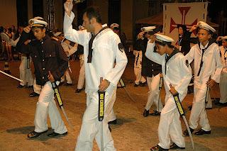 Apresentação da Nau Catarineta de Cabedelo no São João de João Pessoa – Junho/ 2008 - Foto: Lilia Tandaya
