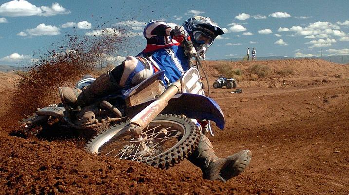 Video de motocross al extremo