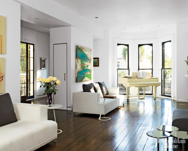 fantastik interior design: Elle Decor Modern Brownstone....