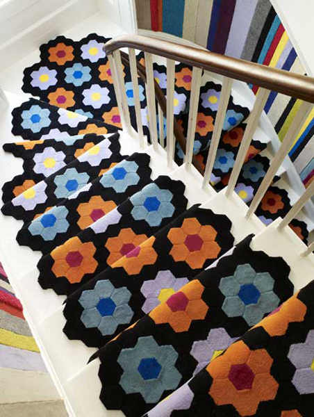 Visit Fun On The Floor for other cool and funky style carpets.