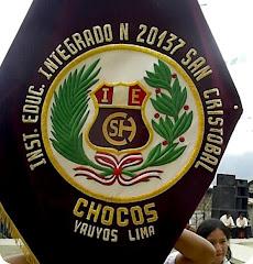ESCUDO DEL COLLEGIO SAN CRISTOBAL CHOCOS