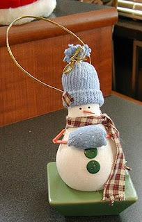Snowman Lightbulbsnowman