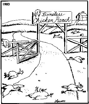 Far Side cartoon 2 search ID