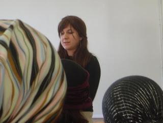 Malka Simkovich speaking