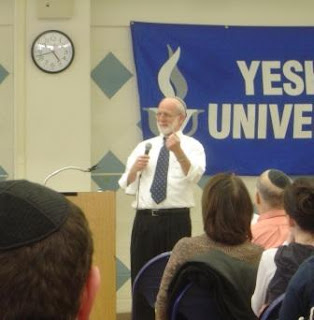 Rabbi Menachem Liebtag speaking