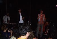 Eprhyme and Shir Ya'akov on stage