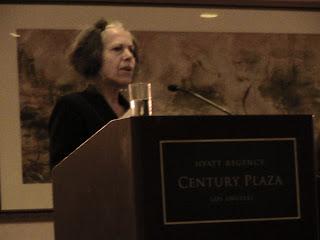 Esther Fuchs speaking