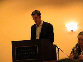 Jonathan Crane speaking