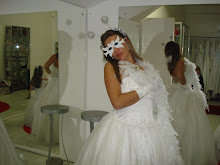 Noiva preparada para festa!!!