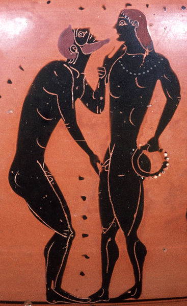 a discussion on the topic of eros in the ancient greek society