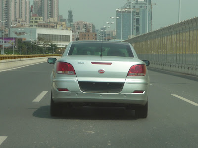 New BYD S6 pre-production model on Shenzhen roads