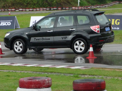 Subaru Forester Test Drive at Shenzhen Shajing Xtreme Speedway