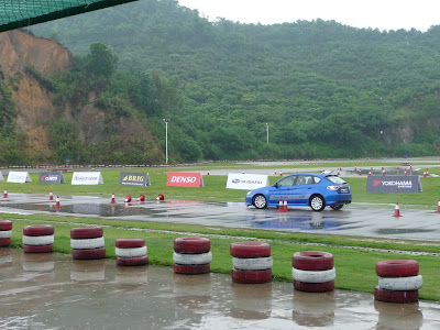 Subaru Impreza Test Drive at Shenzhen Shajing Xtreme Speedway
