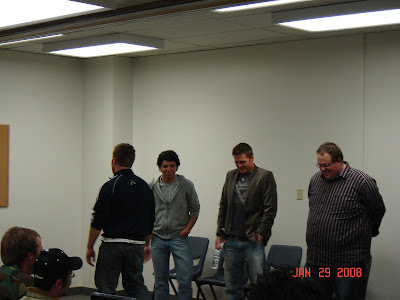 ... Adult Night of Comedy and Improv! Here's a few pictures from the event: