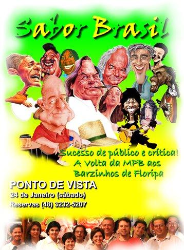Convite para o show - Ponto de Vista - 24/01