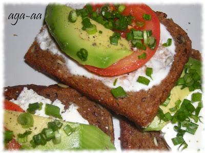 na śniadanie- Kanapki z awokado