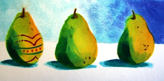 Easter Pear Step 7