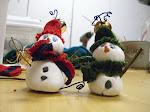 Snowmen ...