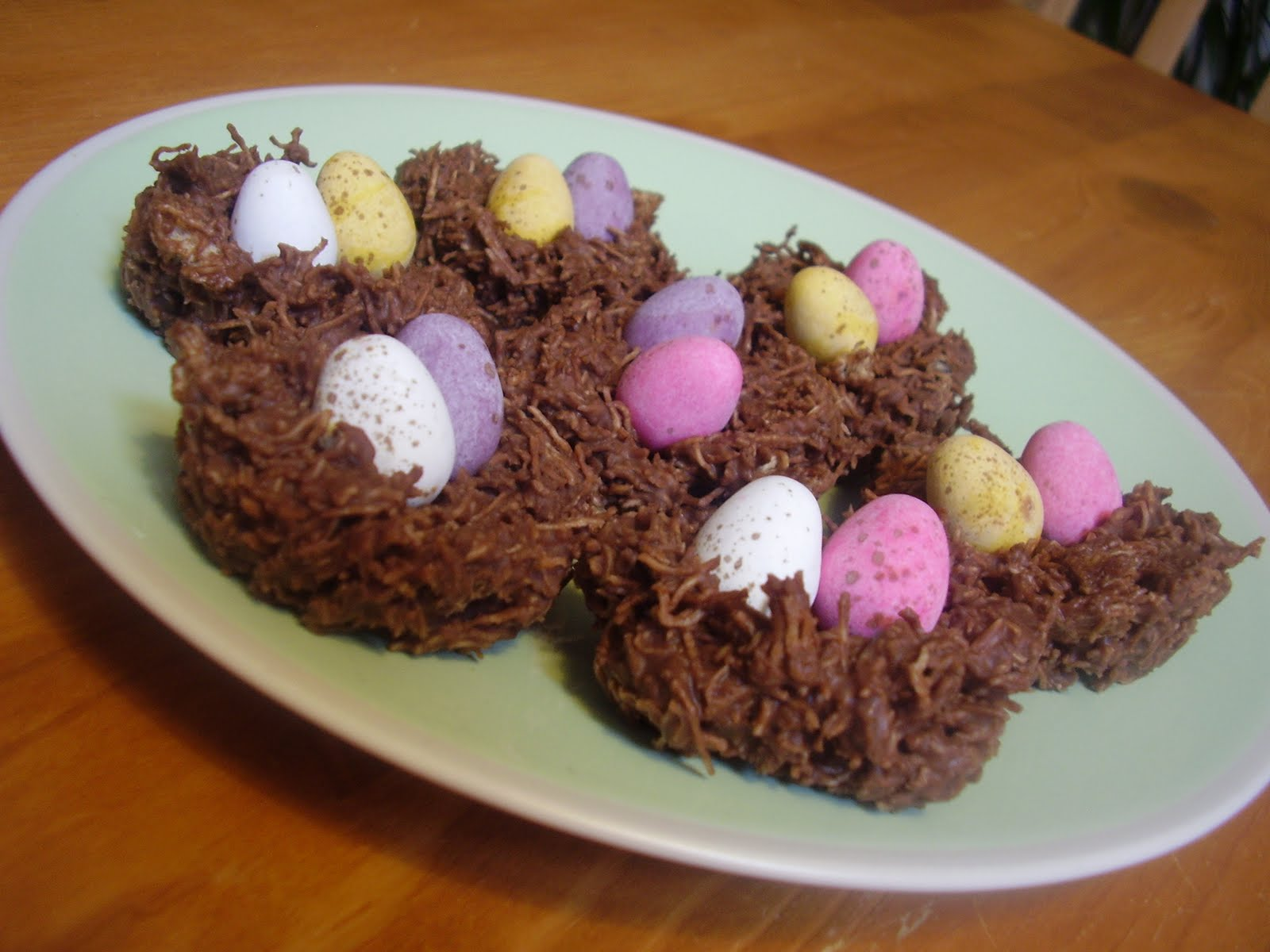 Easter Egg Nests Recipes — Dishmaps
