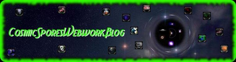 CosmicSporesWebworkBlog