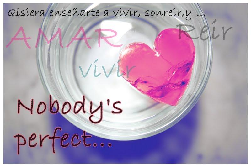 ..Nobody's Peerfectt.. (L)