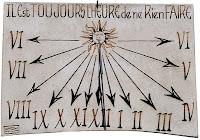 Sundial of Saint Rémy de Provence