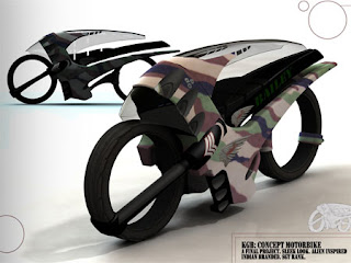 sleek speedracing bike concept