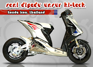 Honda Beat Oto-contest Modification : Thailand Style