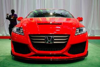 Honda CR-Z Hybrid Sport modification