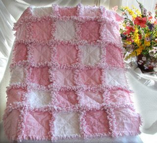 Green Apple Orchard: Easiest Quilt Ever! The Rag Quilt