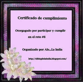 Certificado Reto 8!!!
