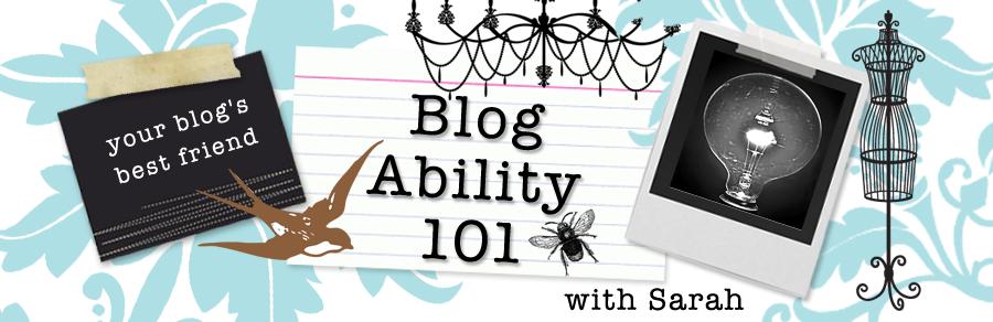 Blog Ability 101