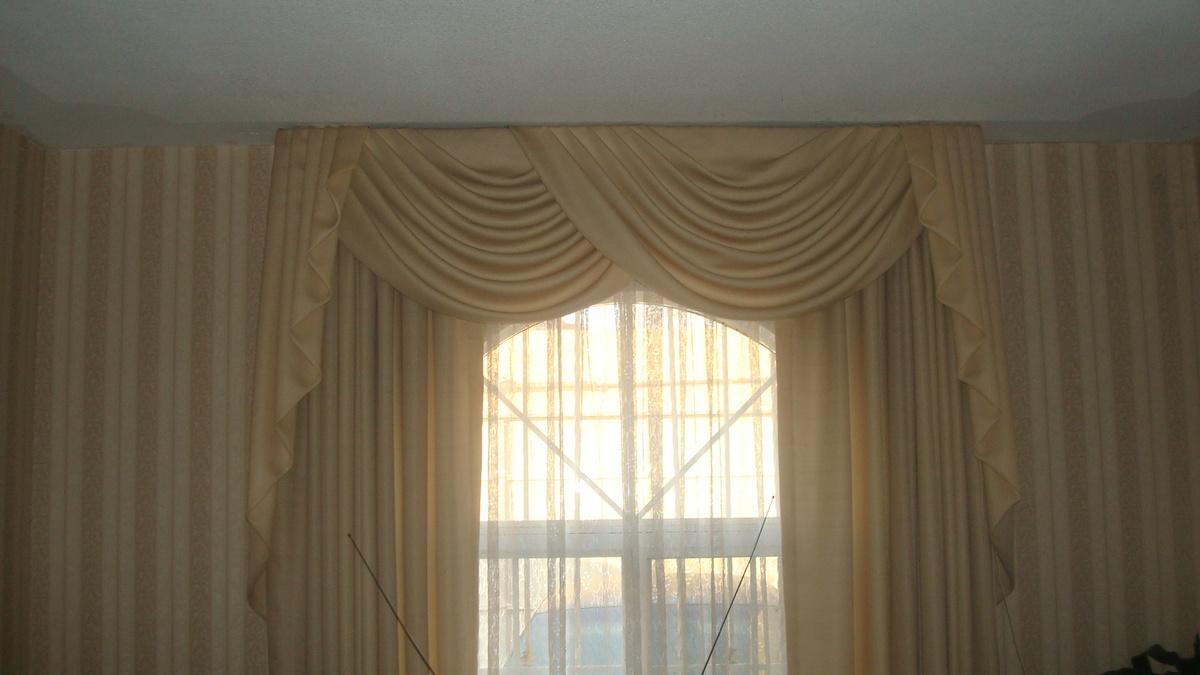 Modelos de cortinas en tela imagui for Modelos de cortinas de tela