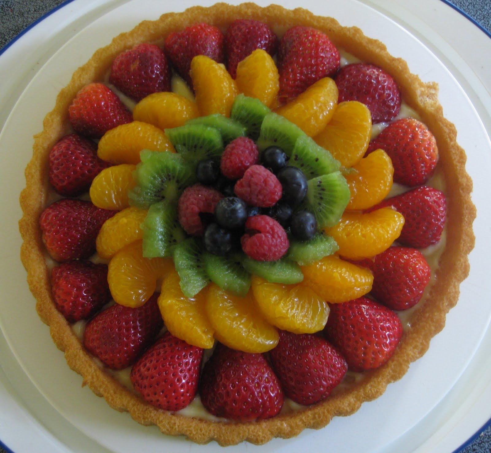 German Fruit Torte Cake