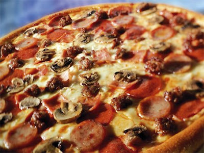 Mighty Meaty by Domino's Pizza