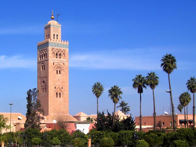 Koutoubia Mosque, on a perfect day