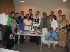 La soirée lecture de la dernière session de formation à Ifad