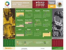 Nuevo Calendario Escolar 2010-2011.